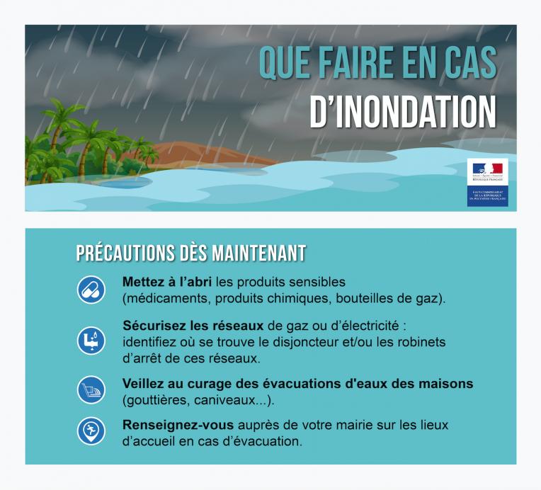 De fortes pluies attendues en Polynésie