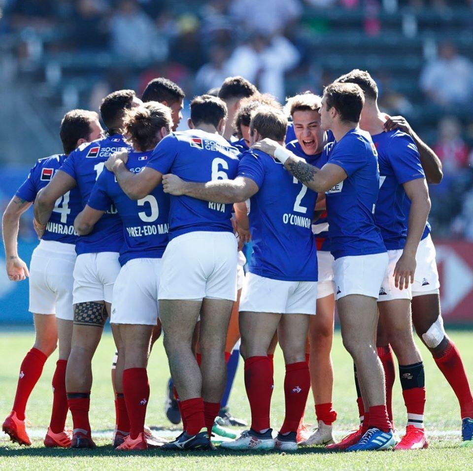 Teiva Jacquelain se tourne désormais avec l'équipe de France vers le tournoi de Vancouver qui débute le 7 mars. (© France Rugby)