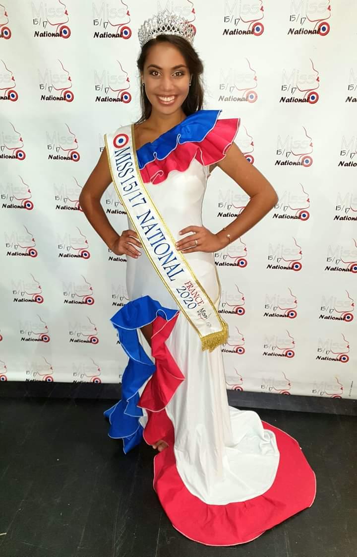 La Tahitienne Mareva Lenoir Miss 157 National 2020