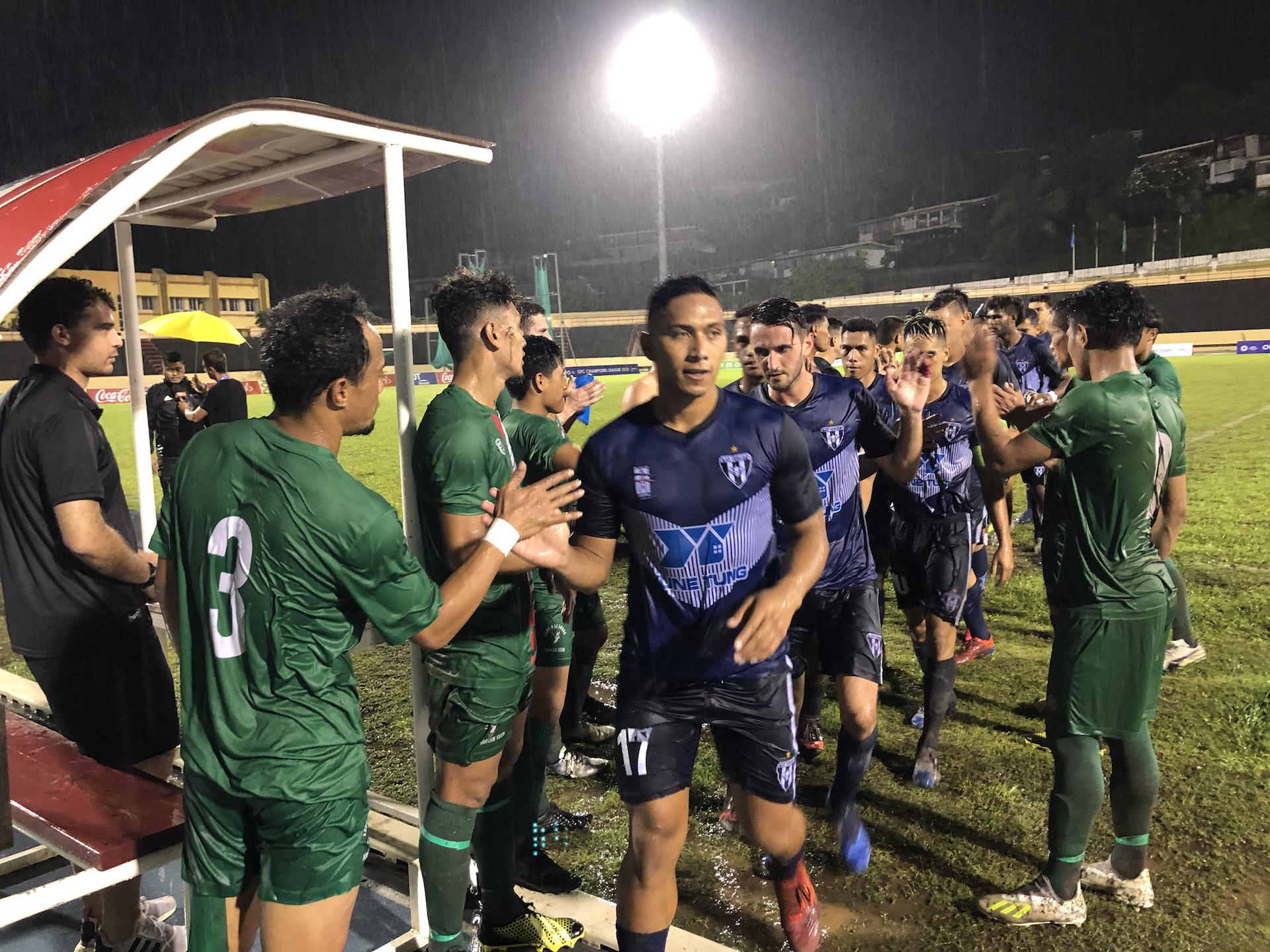 Tamatoa Tetauira et l'AS Vénus ont désormais rendez-vous mercredi avec Auckland City pour leur deuxième match de poule.