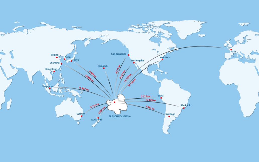 La Polynésie, point stratégique pour les investisseurs ?