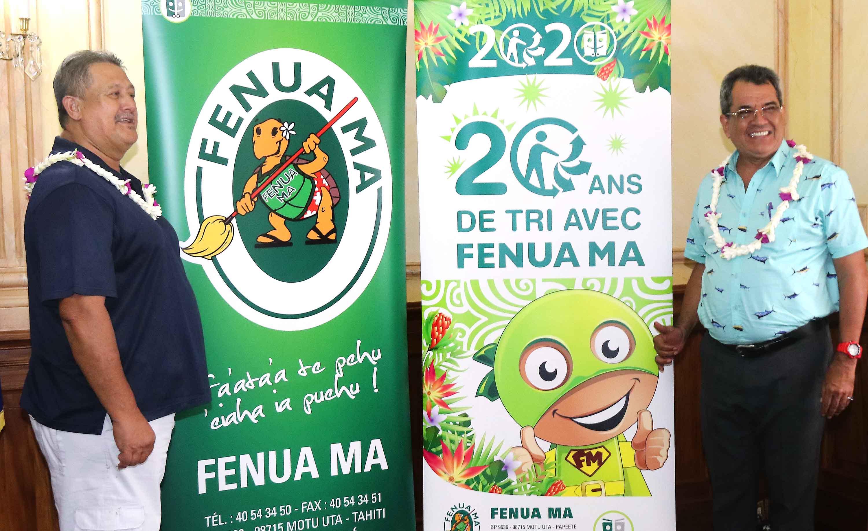 Fenua Ma s'engage pour le tri des déchets toxiques
