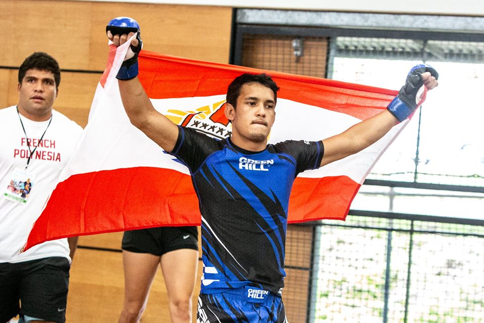 Keoni Terorotua, en poids coqs, a lui signé la première victoire polynésienne aux Oceania. L'intéressé a ensuite décroché une belle médaille de bronze.