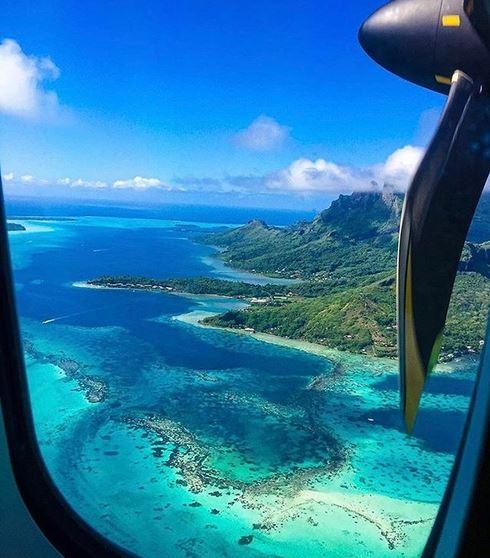 """Les aéroports de Tahiti et de Bora Bora au concours du """"plus bel atterrissage"""""""