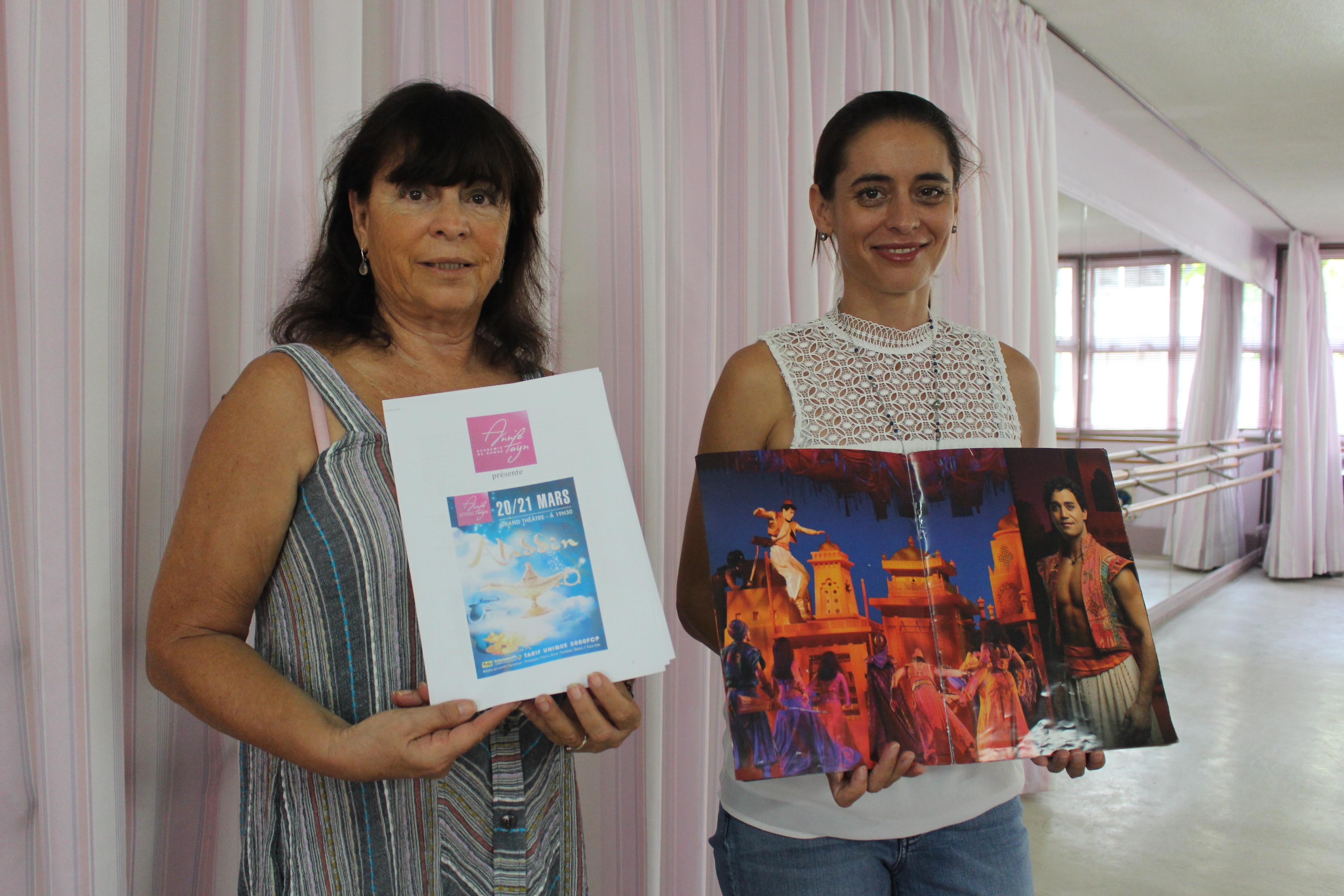 Voyage dans le monde merveilleux d'Aladdin avec l'académie de danse Annie Fayn