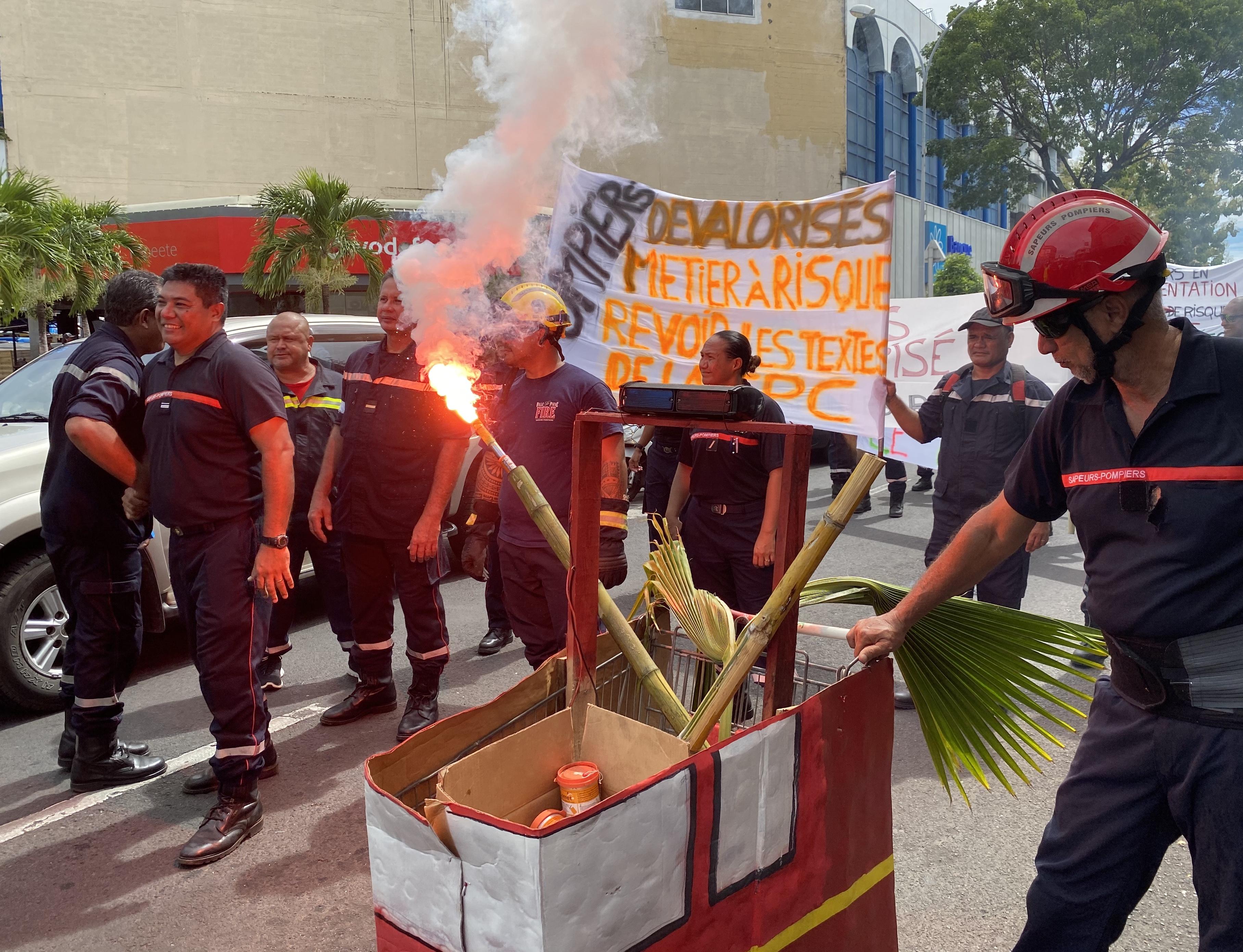 Les pompiers en ont plein les bottes