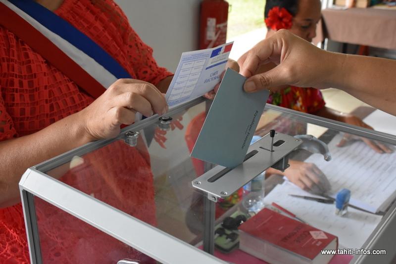 Le vote permis jusqu'à 20 h dans quatre communes de Tahiti