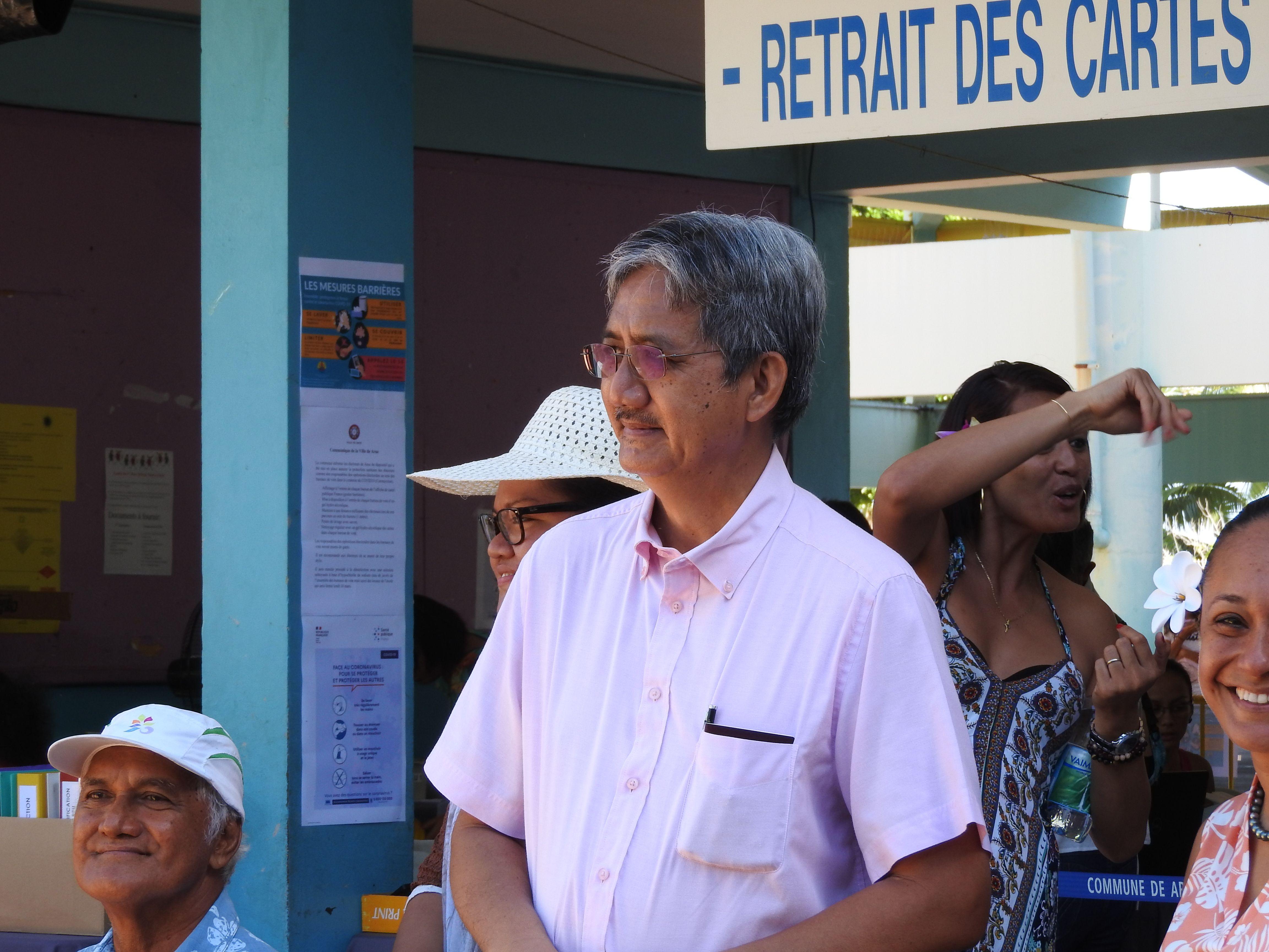 Philip Schyle vers un cinquième mandat à Arue ?