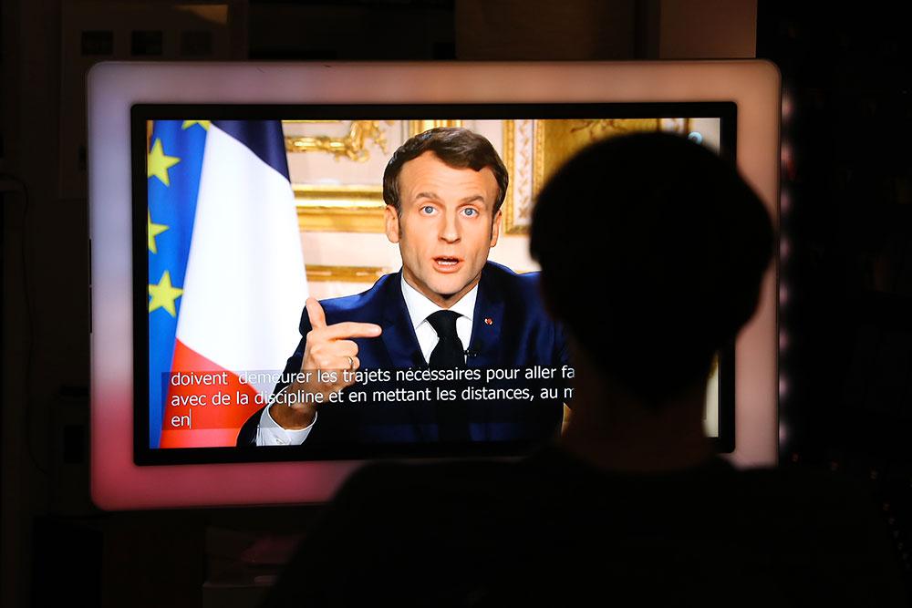 Coronavirus: Principaux points de l'allocution de Macron