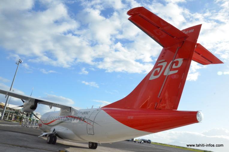 Air Tahiti appelle à la limitation des déplacements