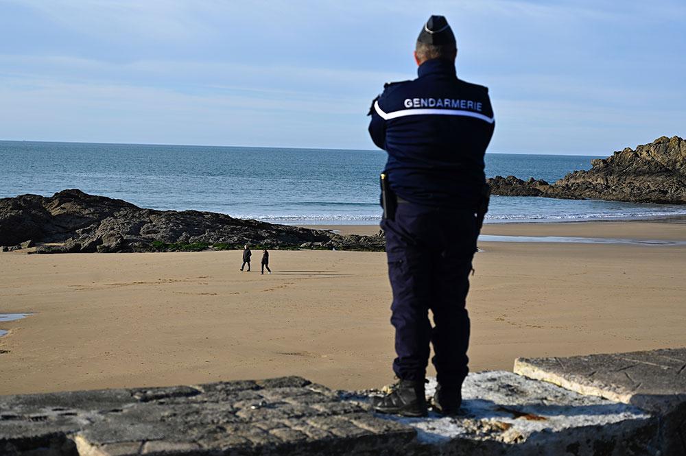 Coronavirus: finies les balades sur nombre de plages françaises