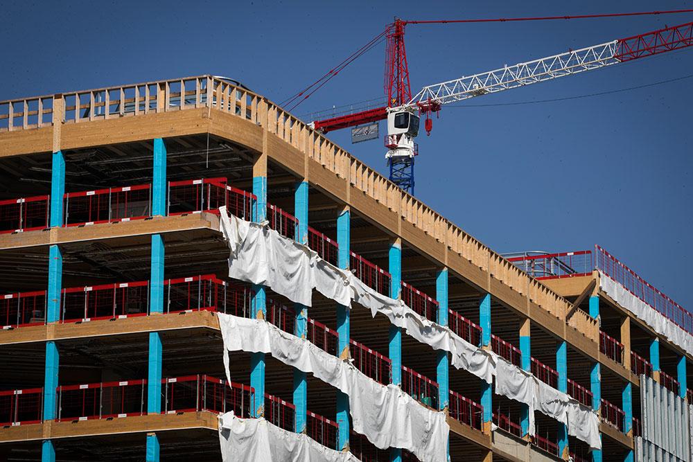 Coronavirus: le bâtiment et le gouvernement proches d'un accord pour les chantiers