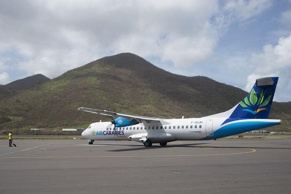 Coronavirus: restrictions sur les vols entre l'Hexagone et l'Outre-Mer