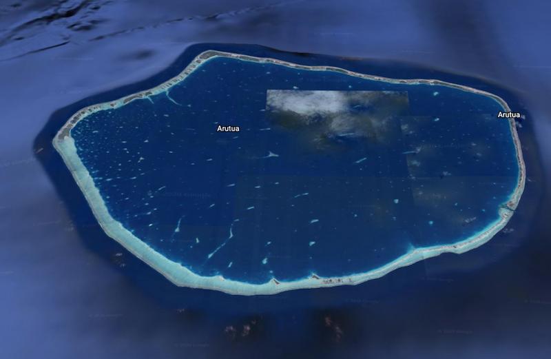 Sauvetage de 36 marins échoués à Arutua