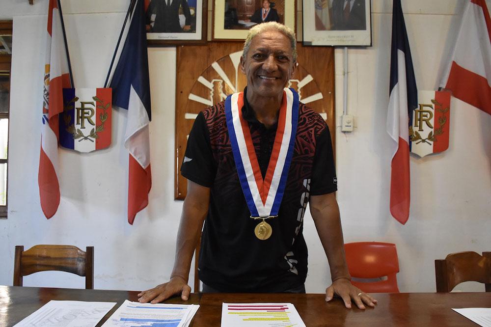 Gaston Tunoa, maire de Papara, a tenu à souligner le travail de la police municipale et des pompiers qui sont en première ligne tous les jours.