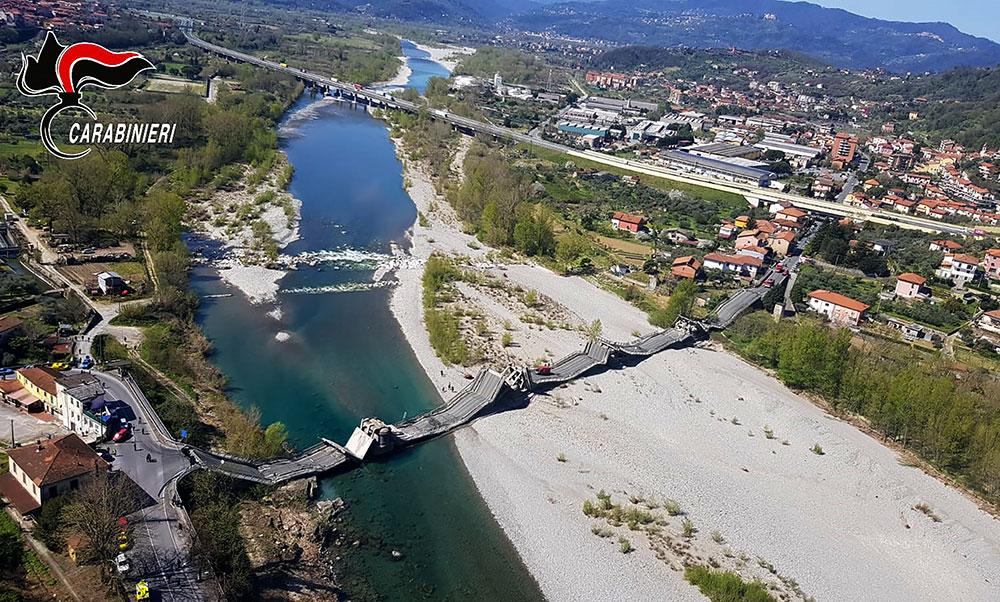 Italie: un pont s'écroule, un blessé