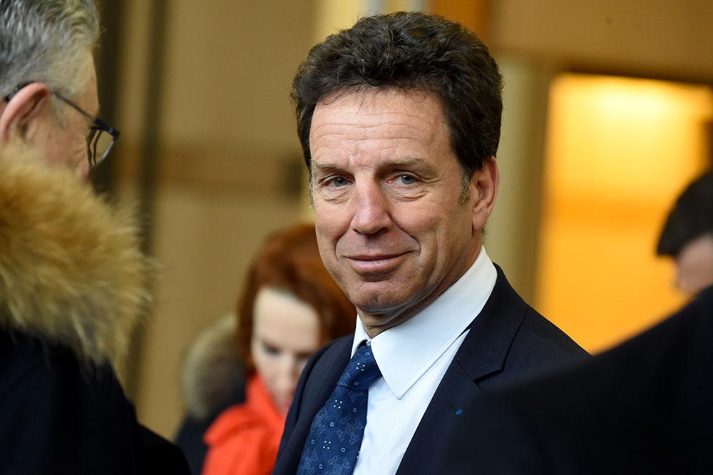 Le président du Medef, Geoffroy Roux de Bézieux.