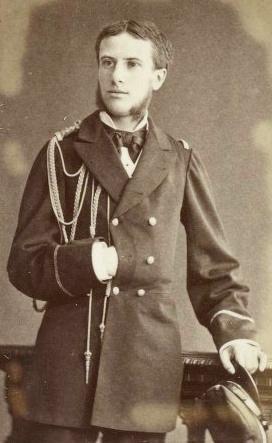 L'un des rares portraits de Paul Hautefeuille au début de sa carrière dans la marine française.