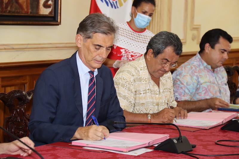 Fonds de solidarité en Polynésie, c'est signé