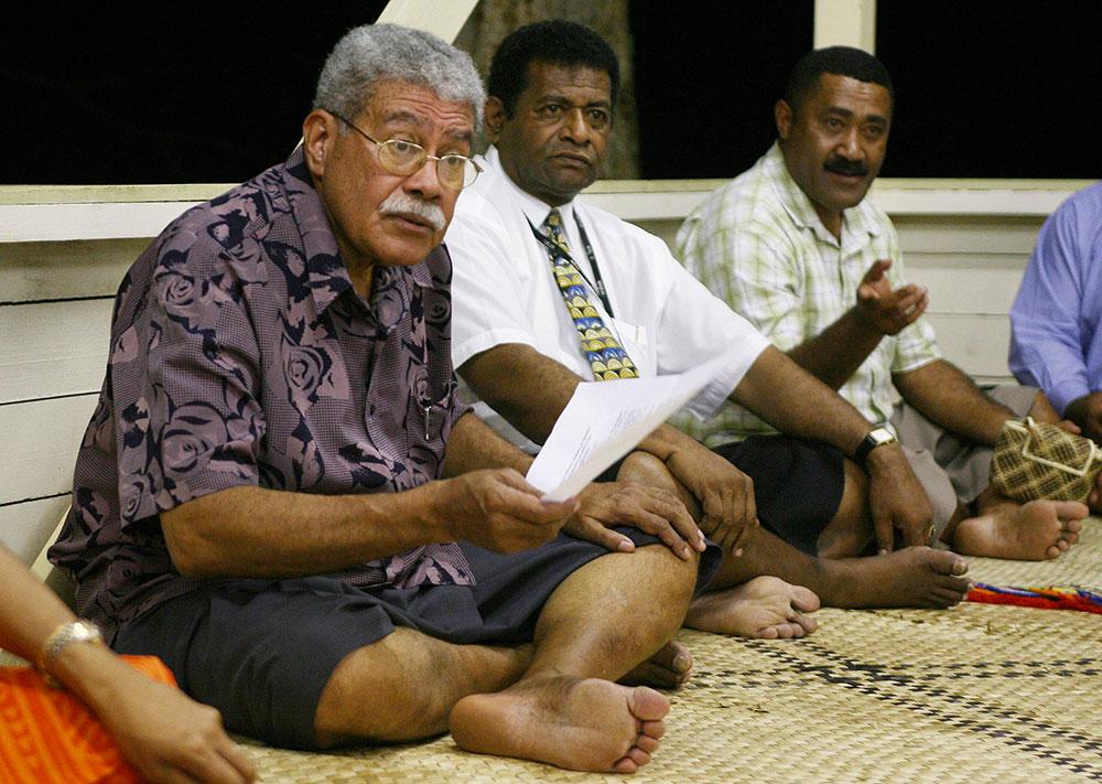 Fidji: Décès de l'ex-Premier ministre Qarase, renversé en 2006 par Bainimarama