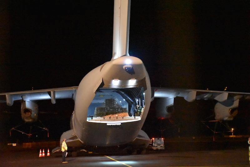 L'A400M, renfort XXL au fenua