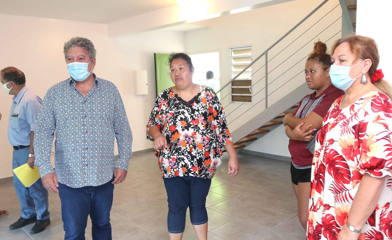 Les familles retrouvent un certain confort avant d'être de nouveau déplacées dans les prochains jours dans une résidence OPH où ils seront locataires.