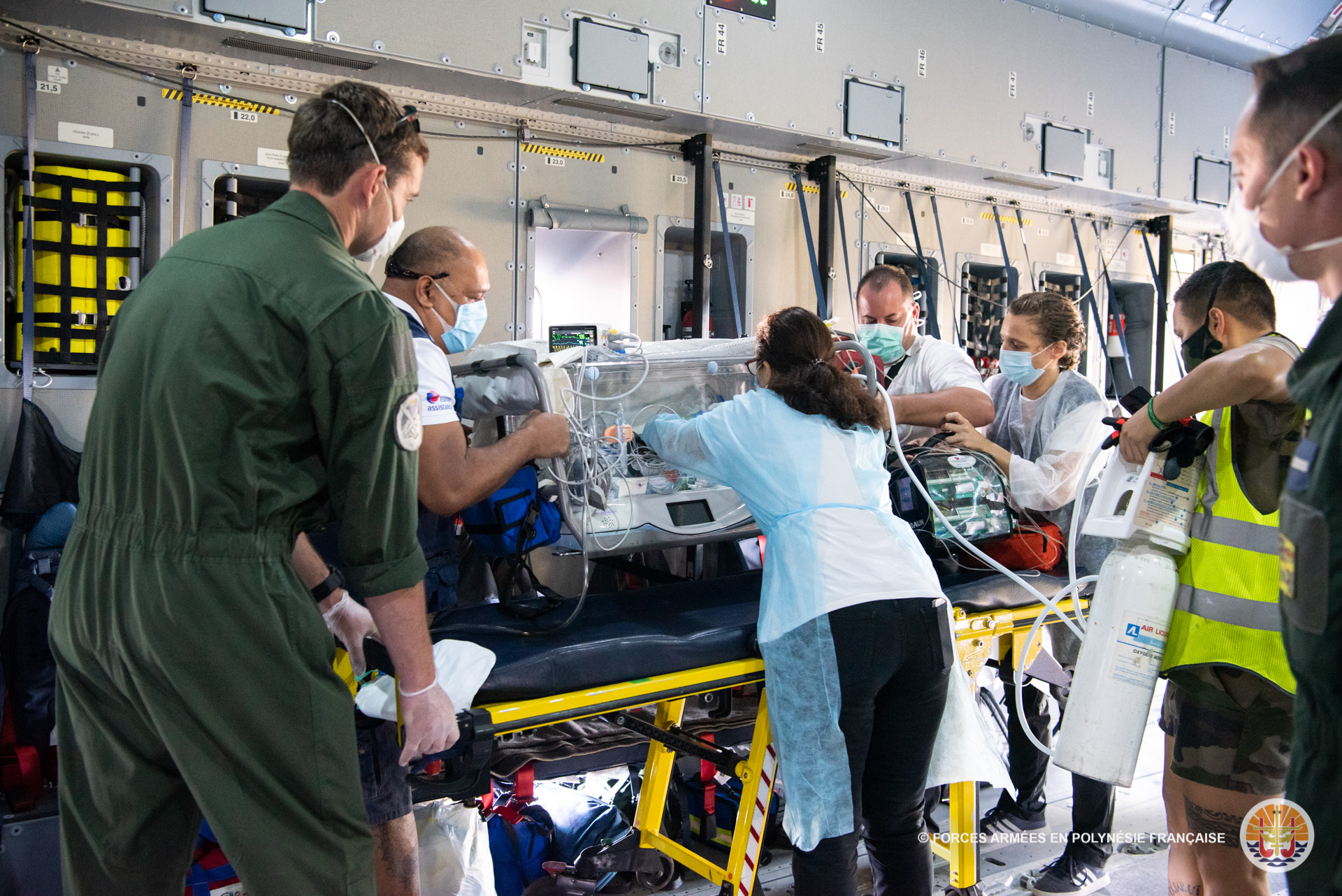 Un nourrisson en « urgence vitale » évacué du fenua sur l'A400M