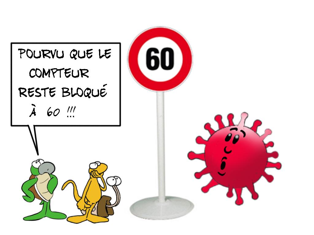 """""""Limite : 60"""", par Munoz"""