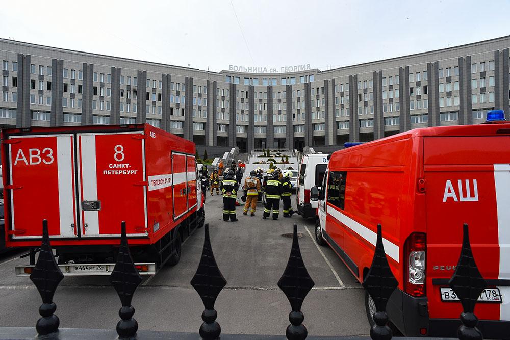 Cinq morts dans un incendie dans un hôpital de Saint-Pétersbourg