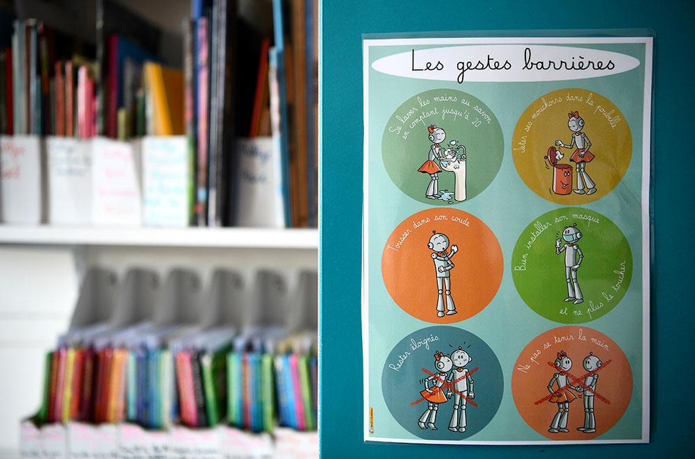 Covid-19: des pédiatres dénoncent des craintes excessives vis-à-vis de l'école