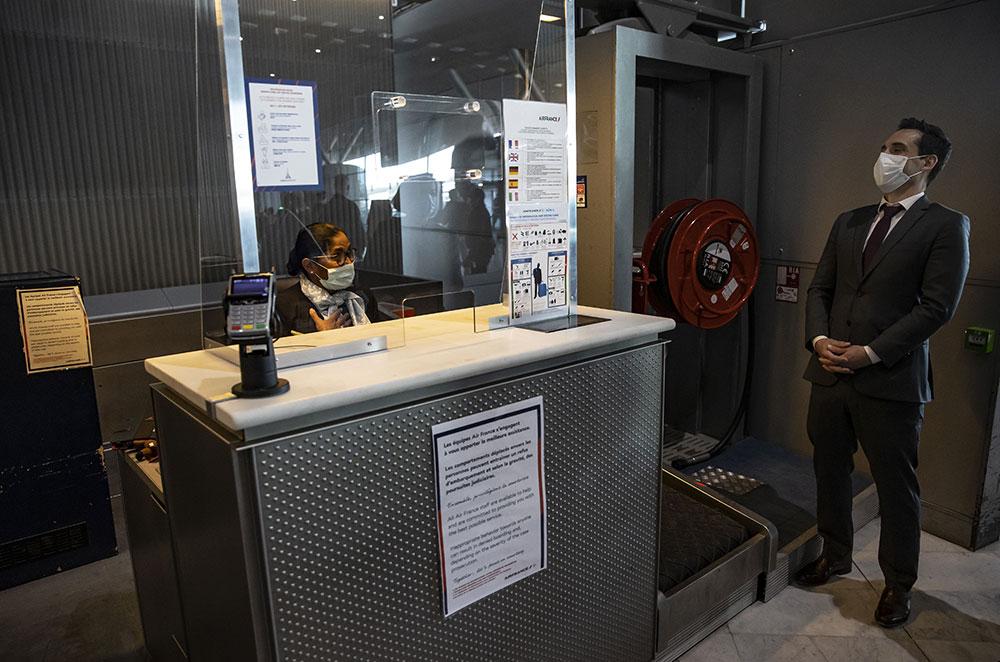 Des caméras thermiques à Roissy pour détecter d'éventuels porteurs du Covid-19