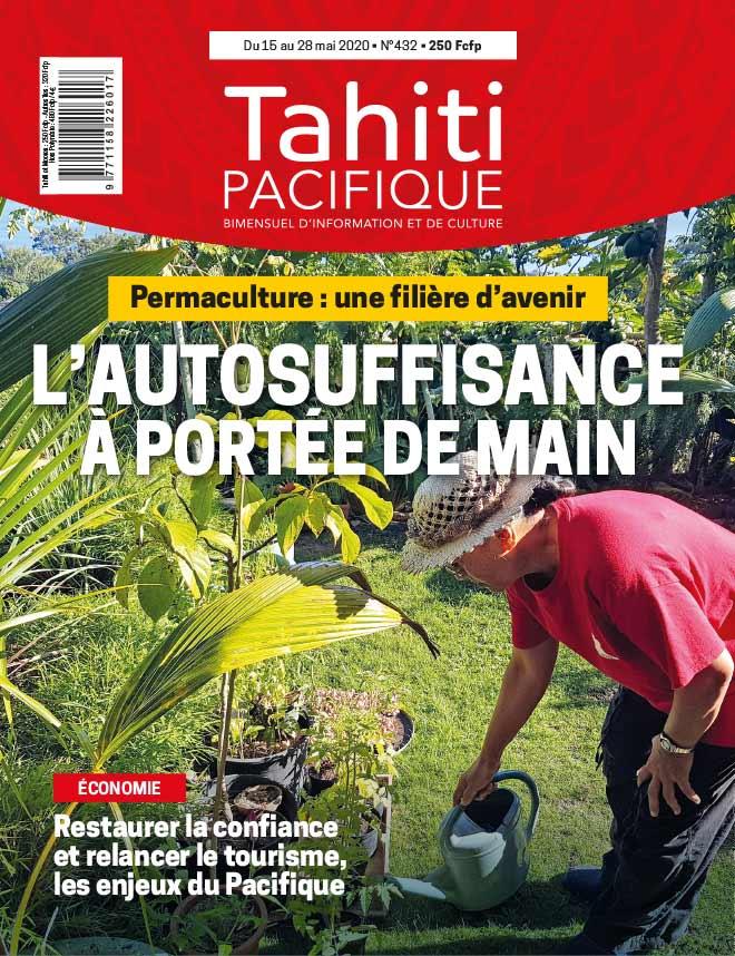 À la UNE de Tahiti Pacifique vendredi 15 mai 2020