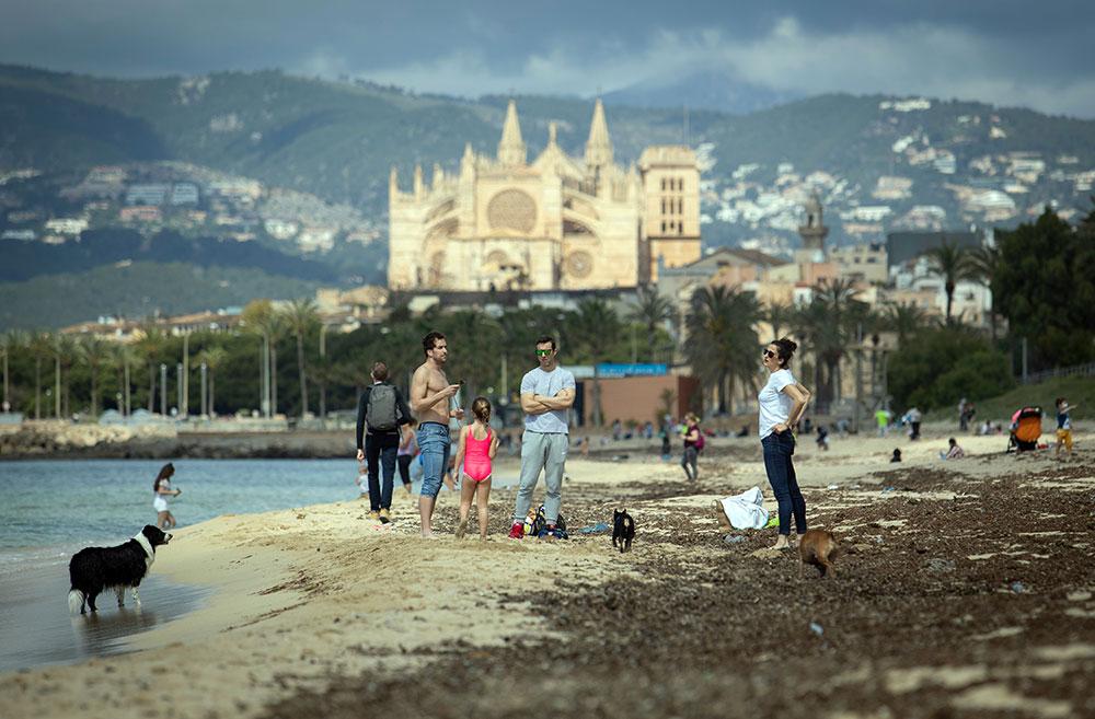 Les Allemands propriétaires à Majorque devront attendre pour venir au soleil