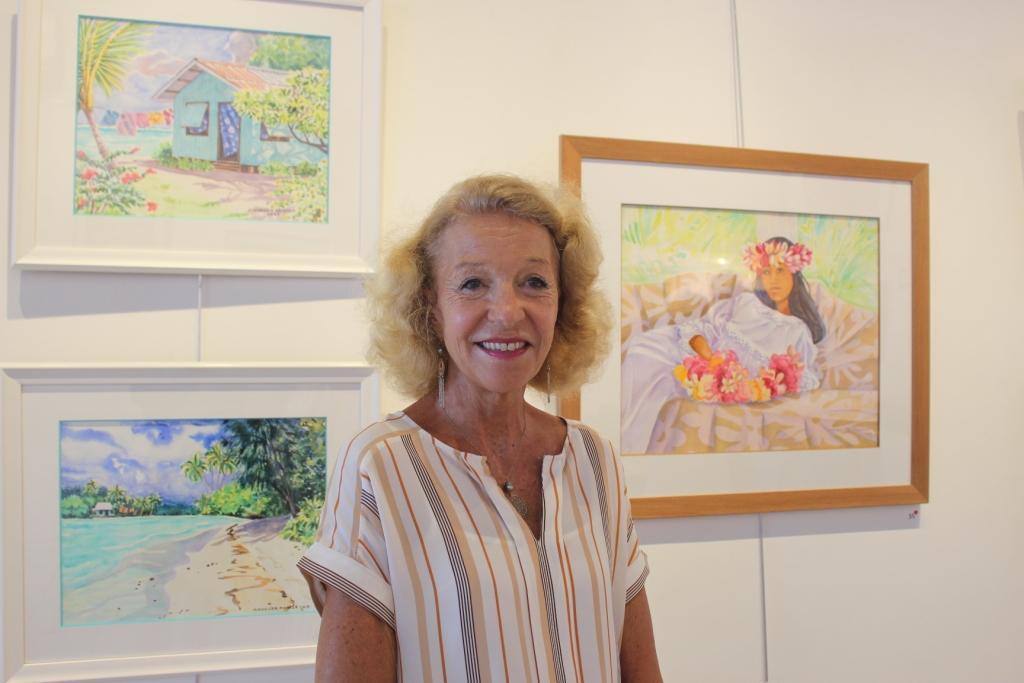 Maryse Noguier dévoile ses nouvelles aquarelles