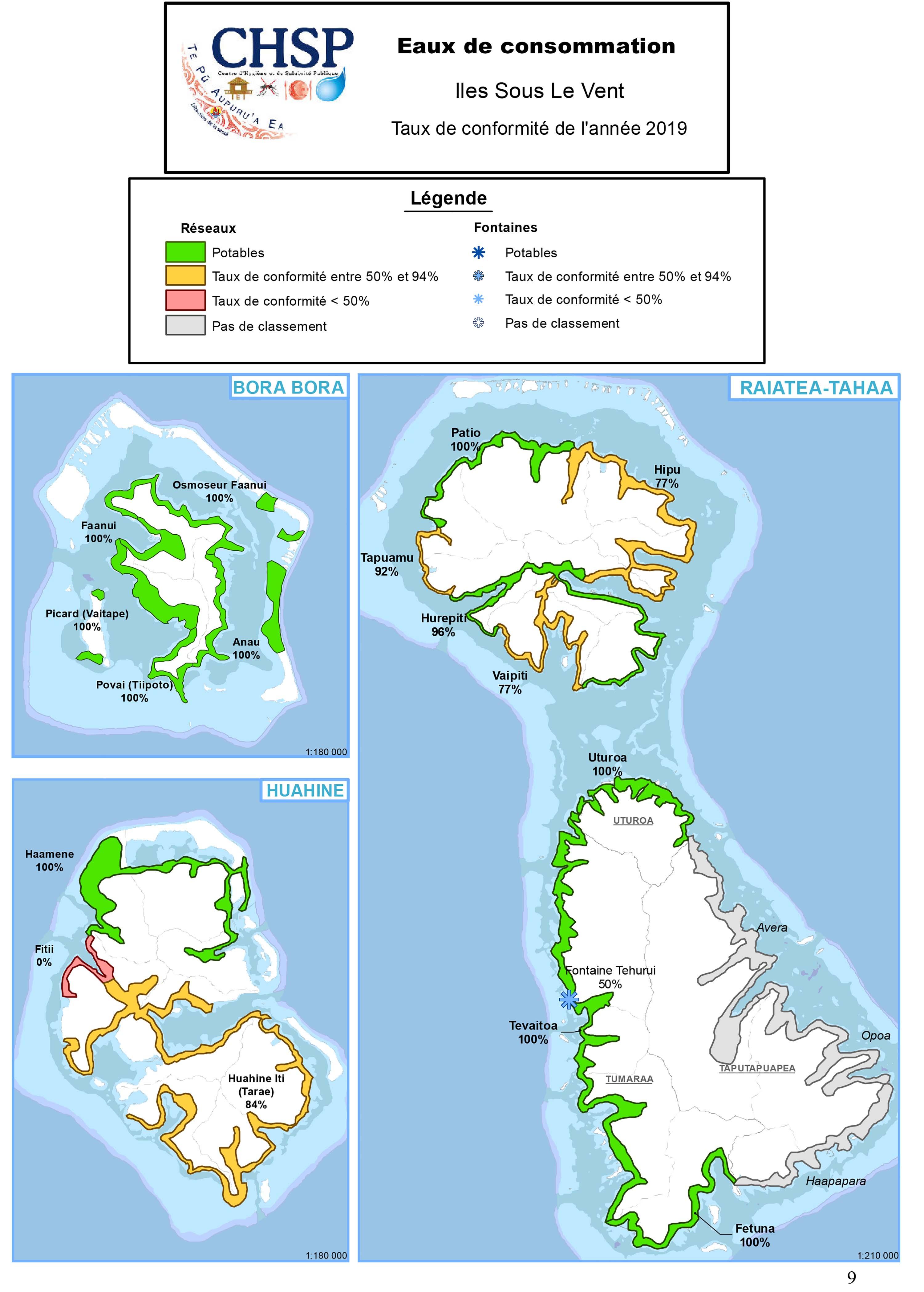Eaux potable : La zone urbaine de Tahiti surnage