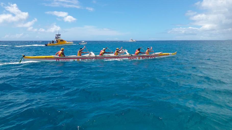 L'année dernière Shell Va'a remportait haut la main sa 12ème Molokai Ho'e.