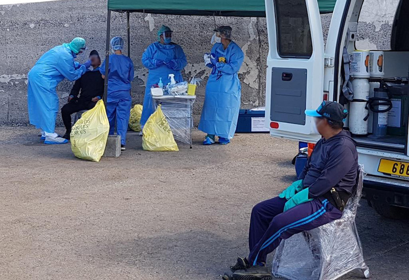 29 marins du navire équatorien positifs au coronavirus