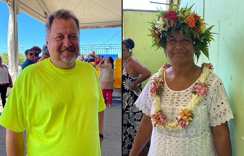 Heia Teina et Gaston Tunoa rejoignent la liste de Bruno Sandras
