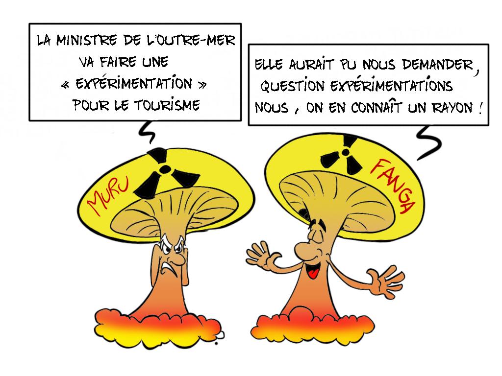 """""""Nouvelle expérimentation à Tahiti"""", par Munoz"""