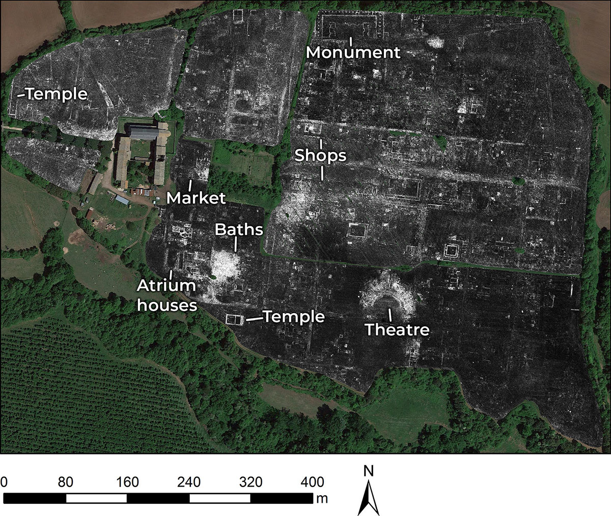 Une cité romaine dans les radars de la science