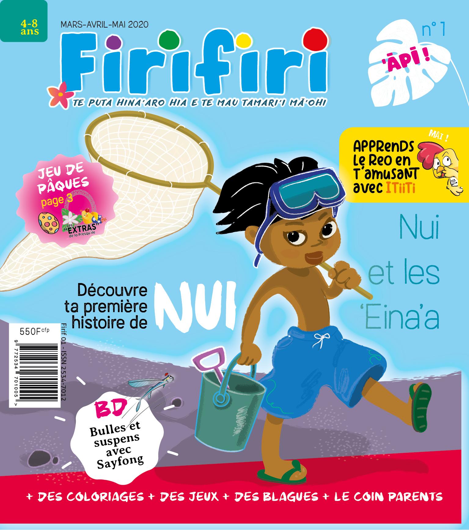 Page enfant : Firifiri, un mag local pour les 4-8 ans