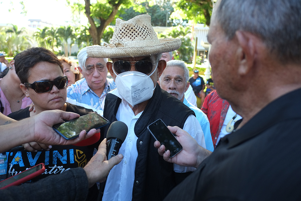 Oscar Temaru poursuit le procureur