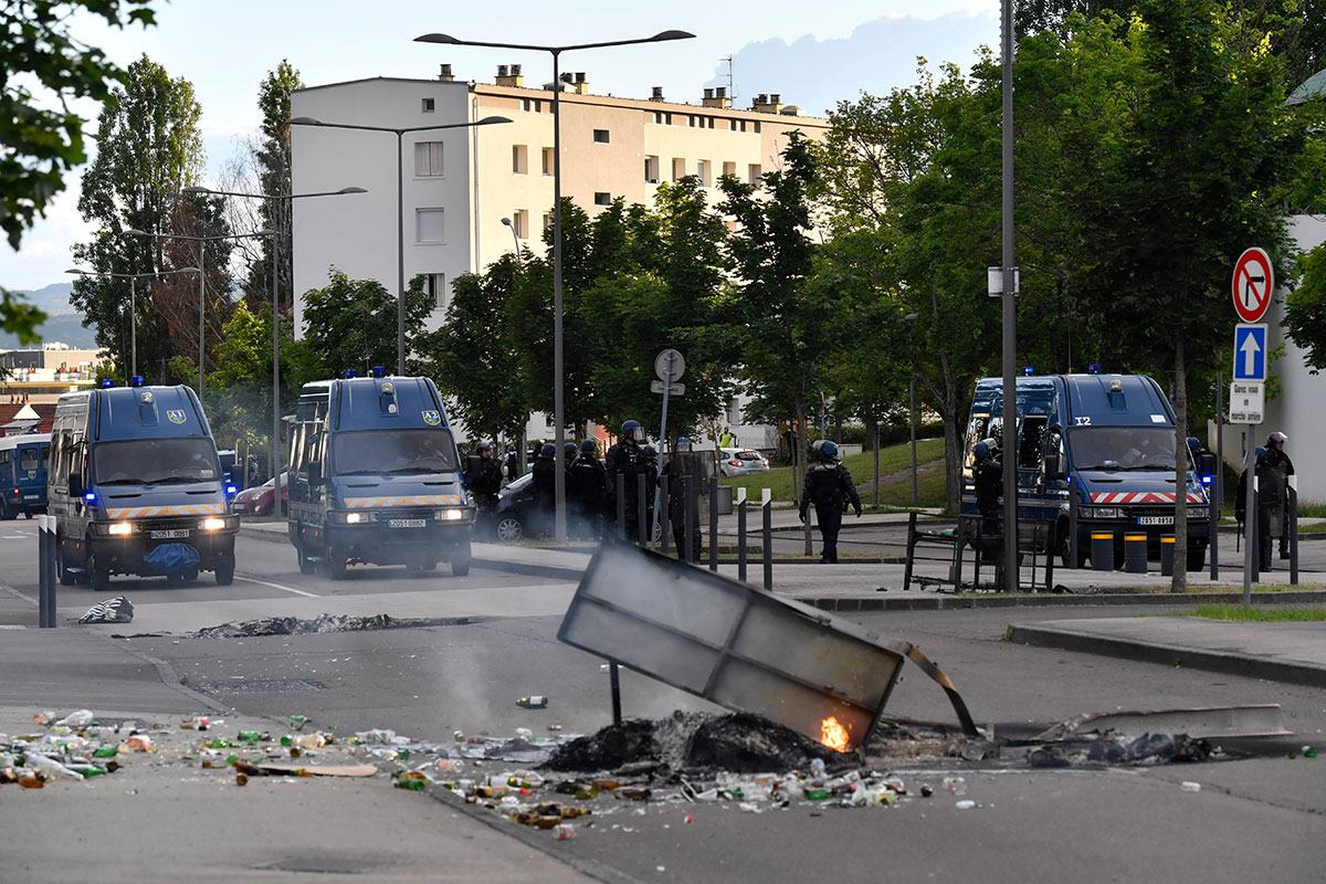 Dijon, la paisible, chamboulée par quatre jours de violences