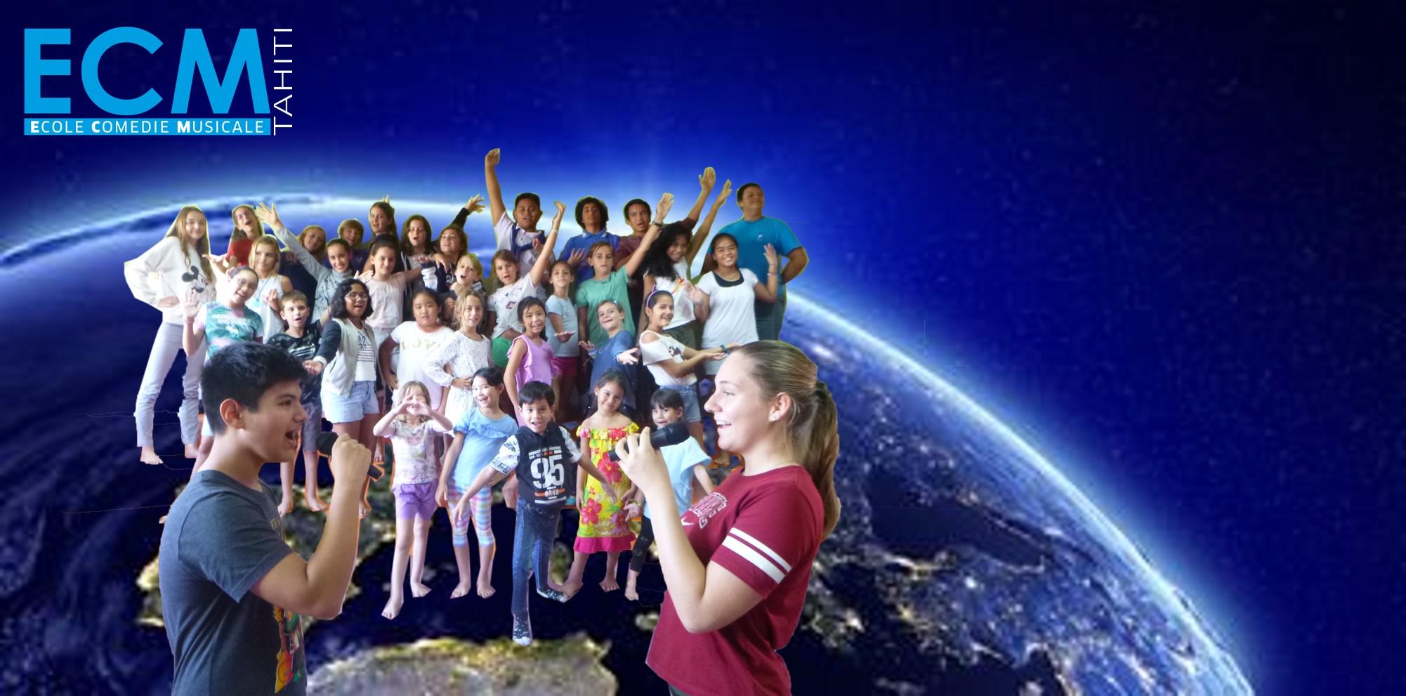 Page enfant : Une comédie musicale par et pour les enfants