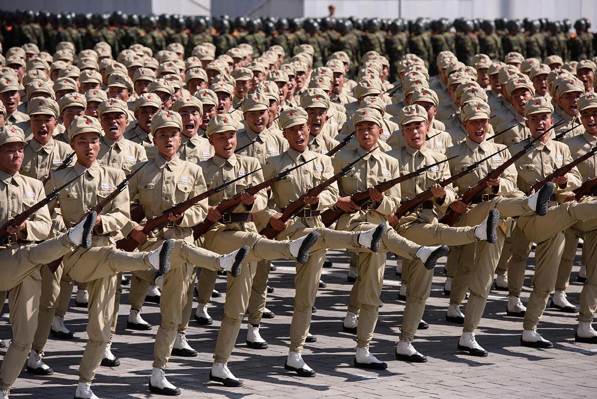 """Pyongyang reste une """"menace extraordinaire"""" pour la région (Pentagone)"""