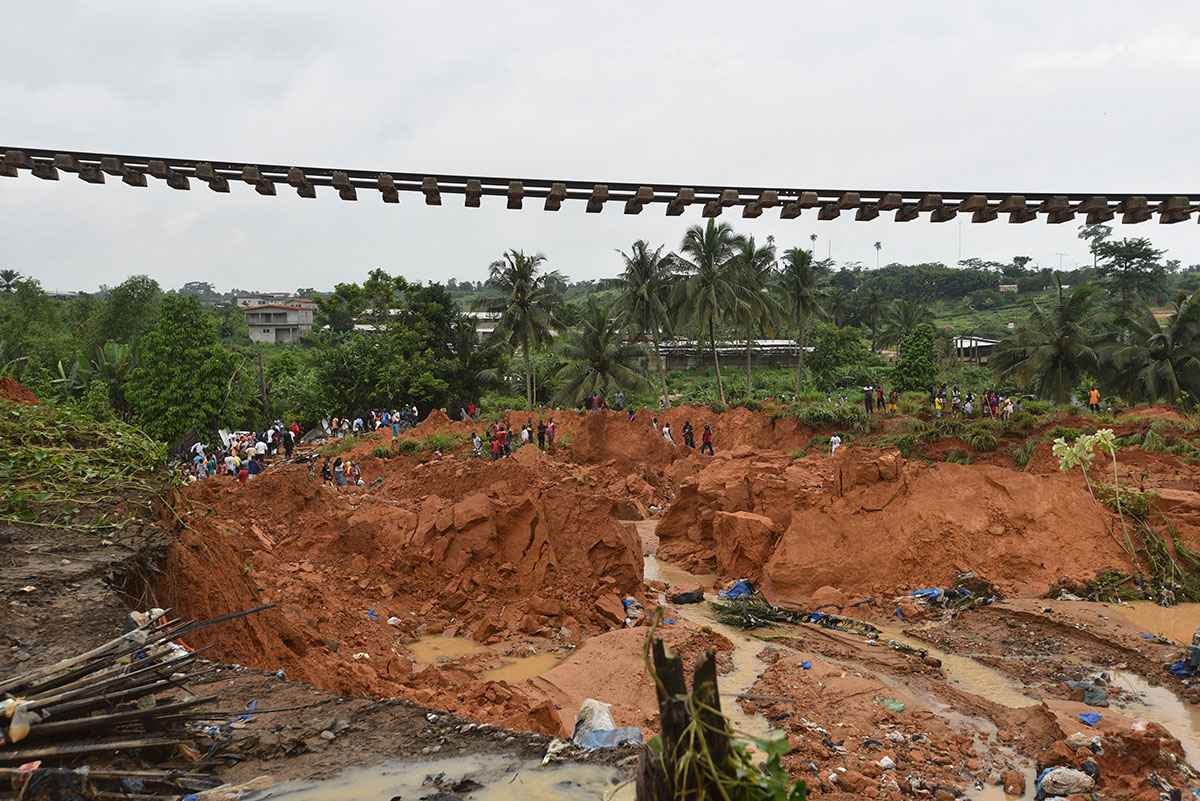 Côte d'Ivoire : au moins 13 morts dans un glissement de terrain à Abidjan