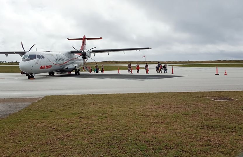 Retour des vols sur Rimatara