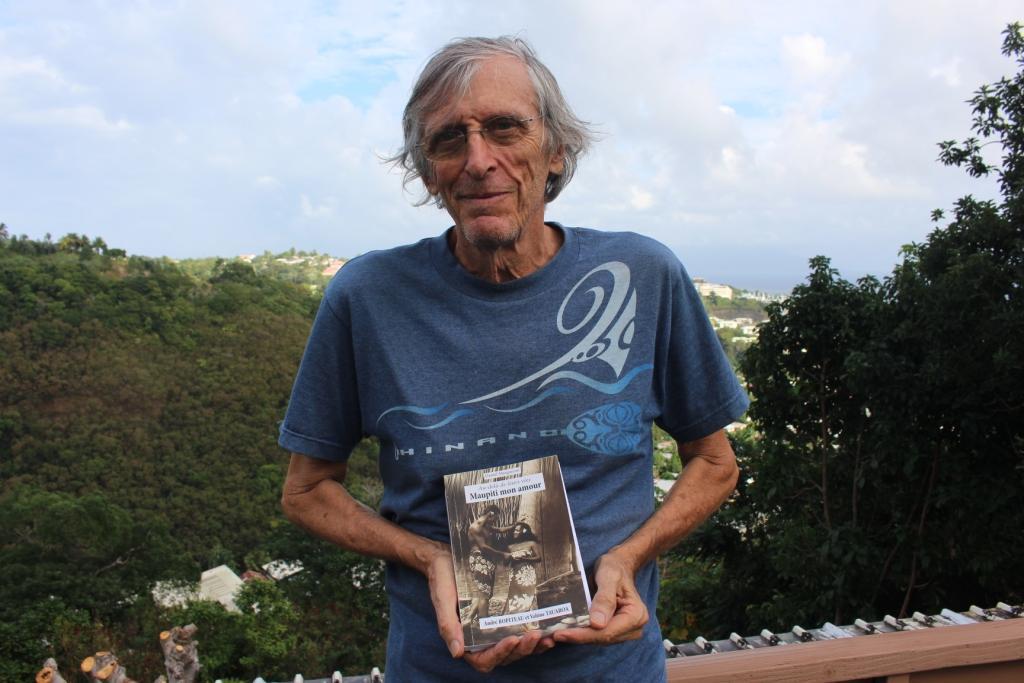 André Ropiteau à l'honneur chez 'Api Tahiti