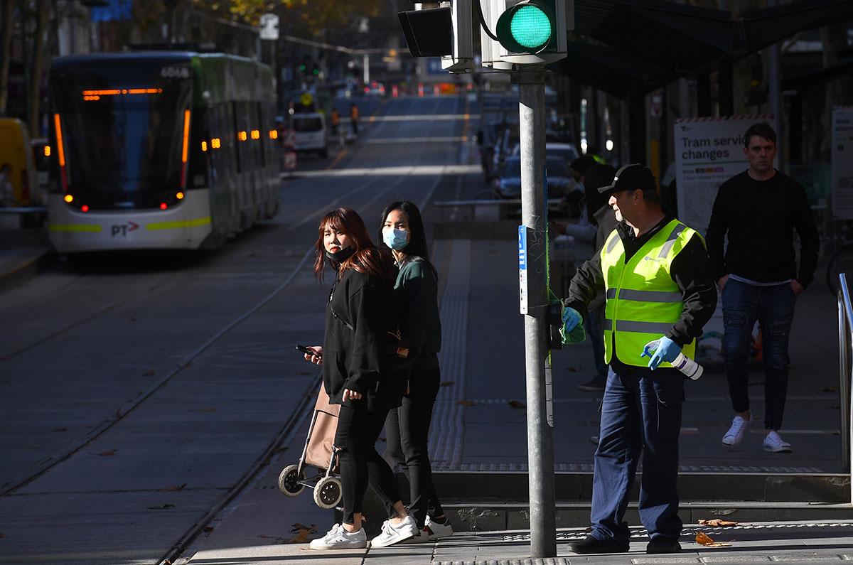 Coronavirus: Melbourne s'efforce de contenir plusieurs foyers de contamination