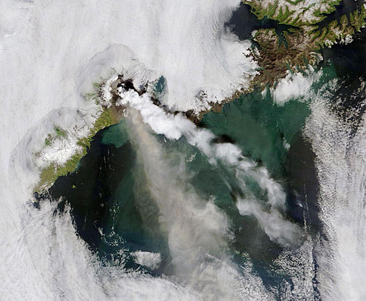 Importante activité sismique et volcanique en Islande